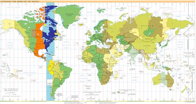 zona horaria ecuador