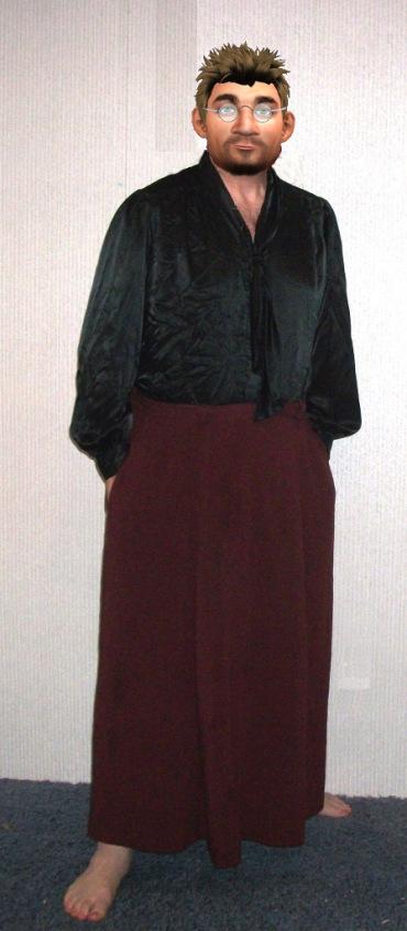 skirts dresses transvestite Men in