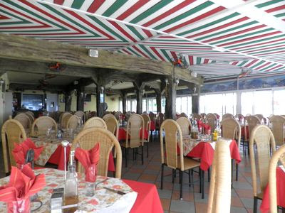 Salle du Restaurant Le Bougainville