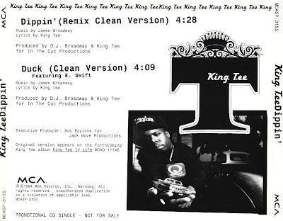 King Tee – Dippin' (Promo CDS) (1994) (320 kbps)