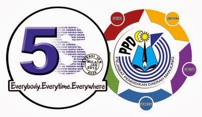 Logo, Slogan dan Tema Amalan 5S