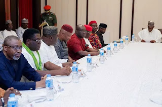 Marginalization, IPOB top Buhari's parley with South East
