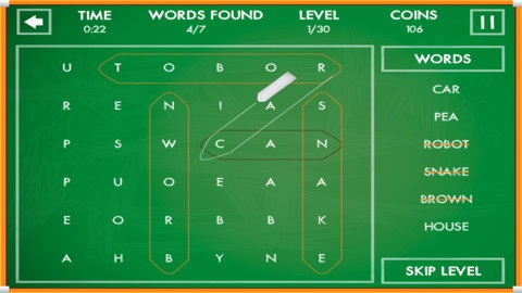 word searches iphone puzzle game source code