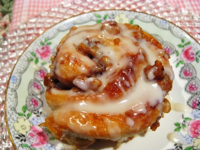 Homemade Cinnamon Rolls for Christmas Morning!