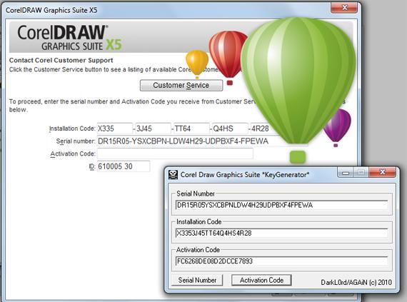 Corel draw x5 with keygen 2011