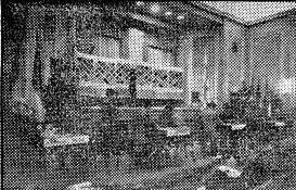Sala de juego del Torneo Internacional de Ajedrez de Barcelona 1952