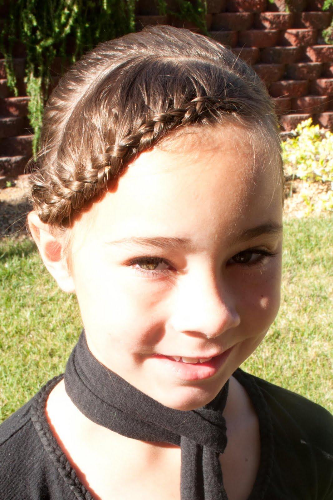 Princess Braid with Bangs