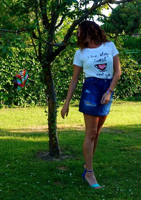 camiseta mensaje love