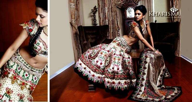 Indian Lehenga Collection 2014 by Kharisma Saree Center