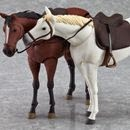 figma Horse (White) & Horse (Chestnut) Exclusivo