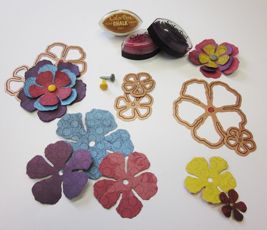 Magenta faire ses propres fleurs make your own flowers - Faire ses propres stickers muraux ...