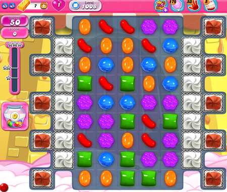 Candy Crush Saga 1008