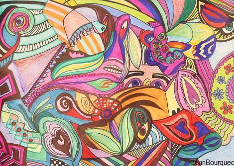 Jeanee Paints Live