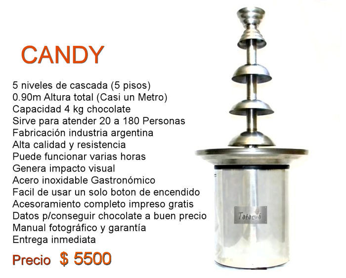 CANDY CASCADA DE CHOCOLATE