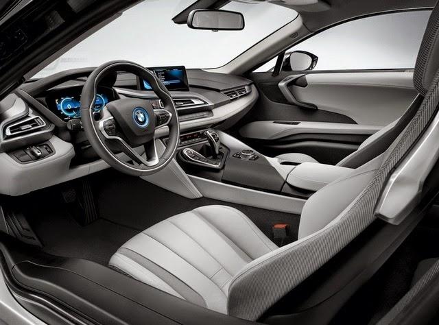 2016 BMW i8S interior