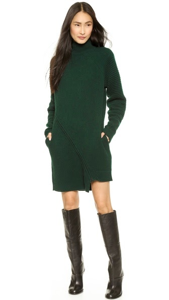 Felted Zipper Dress by: Opening Ceremony @Shopbop