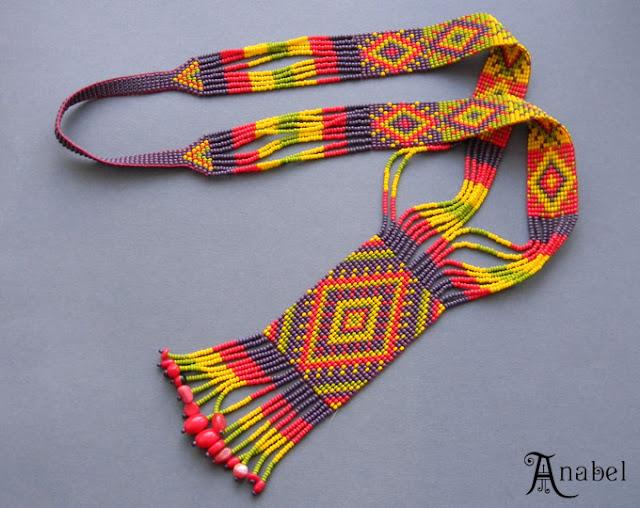 купить гердан гайтан этнические украшения украина анабель бисер