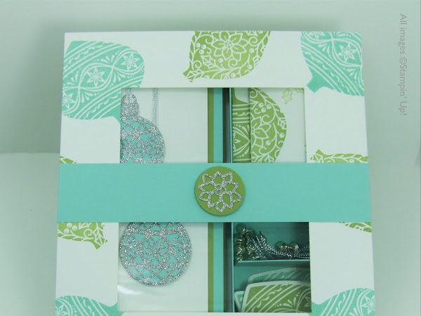 Day 5 - Embellished Ornaments Series - Box of Cards, Gift Cards & Tags