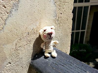 amigurumi crochet ours julie adore mignon