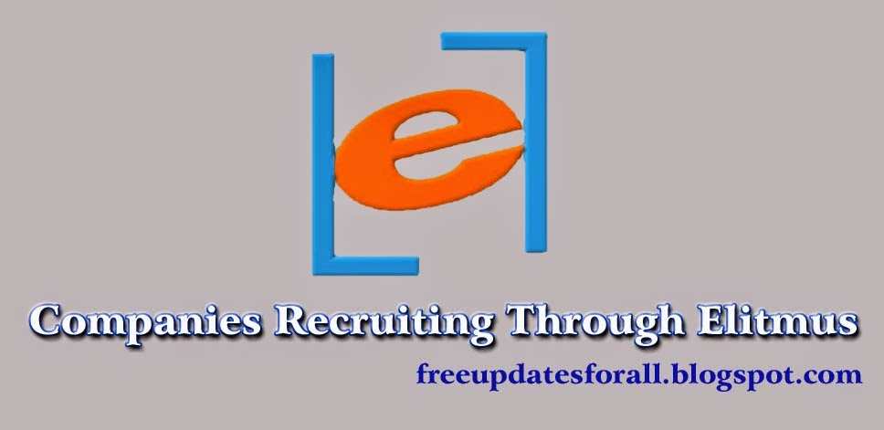Companies Recruiting Through Elitmus