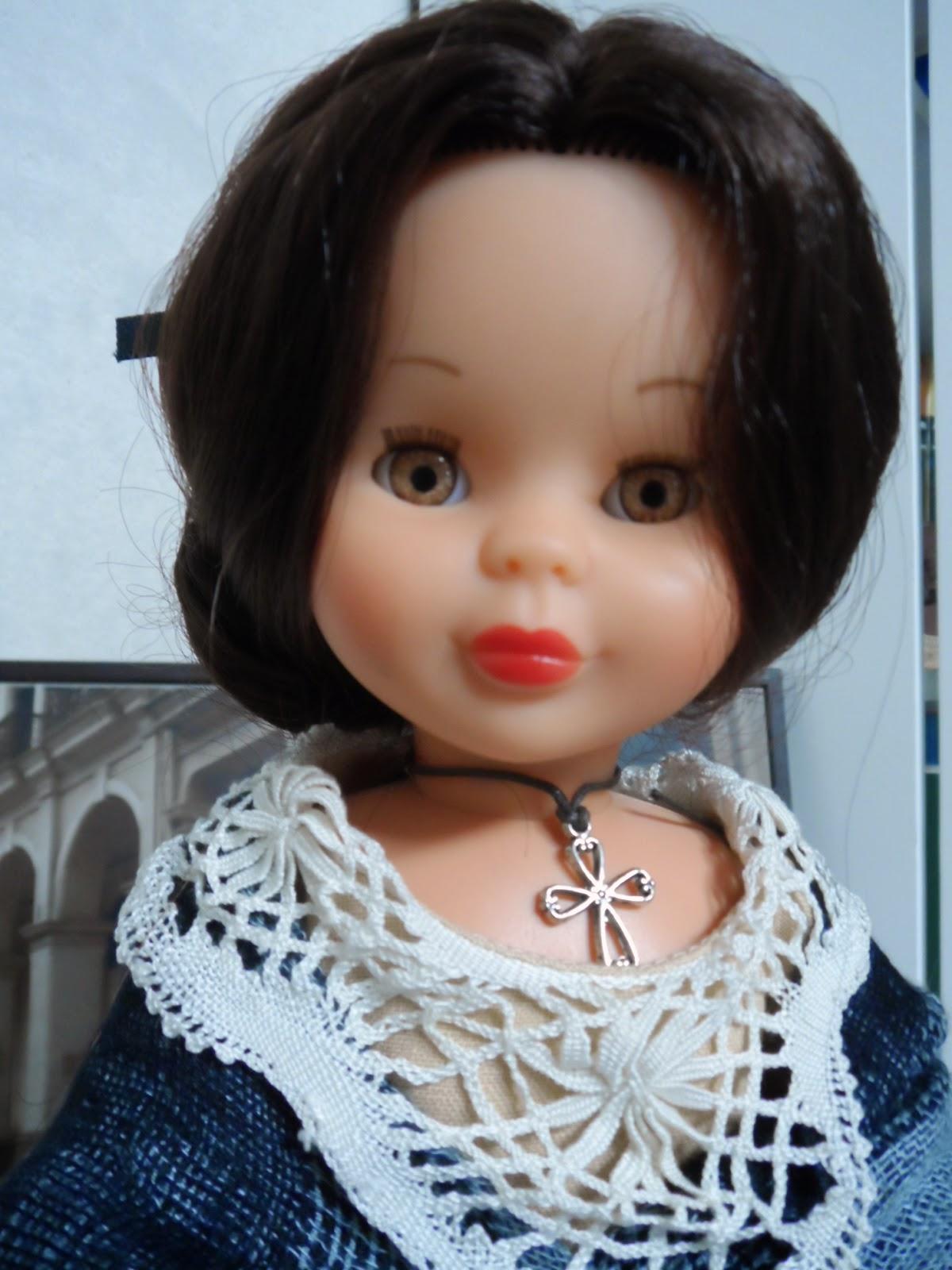 Nancy reedicion vestida con el traje de aragonesa