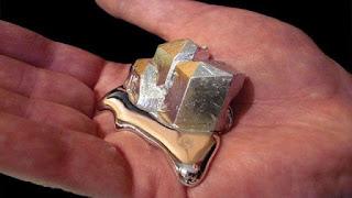 Galium, Logam istimewa yang meleleh di tangan dan melelehkan logam lain