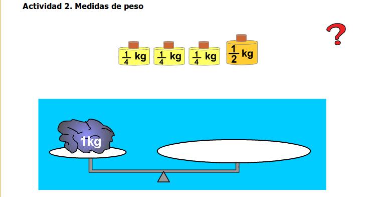 L pices de colores el medio kilo y el cuarto de kilo for Un cuarto de kilo