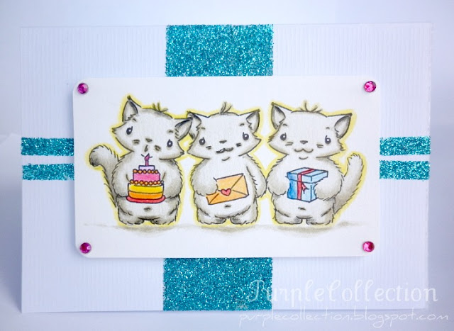 Kitty birthday card, birthday card, new cards update