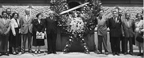 Aux funérailles du peintre OROZCO