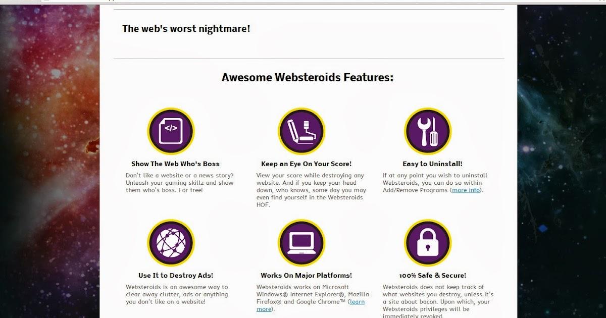 websteroids ads