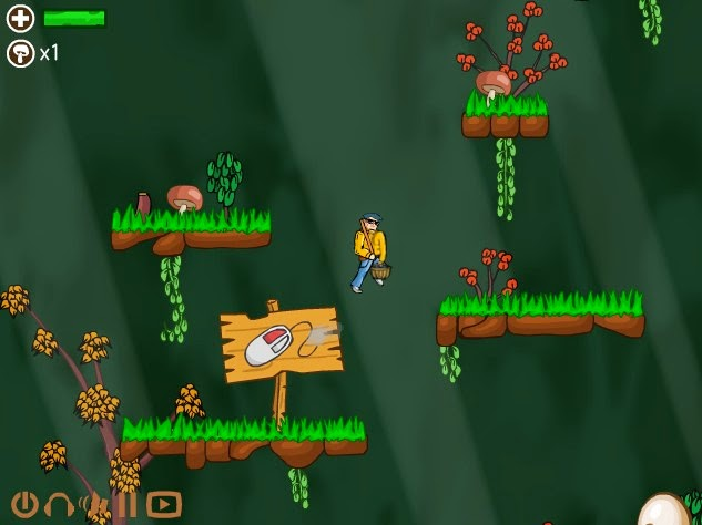 http://www.buzzedgames.com/awesome-mushroom-hunter-game.html