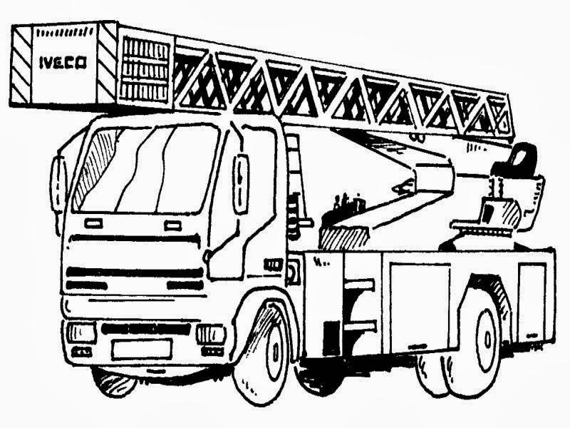 Malvorlagen Feuerwehrauto Gratis ~ Die Beste Idee Zum Ausmalen von ...