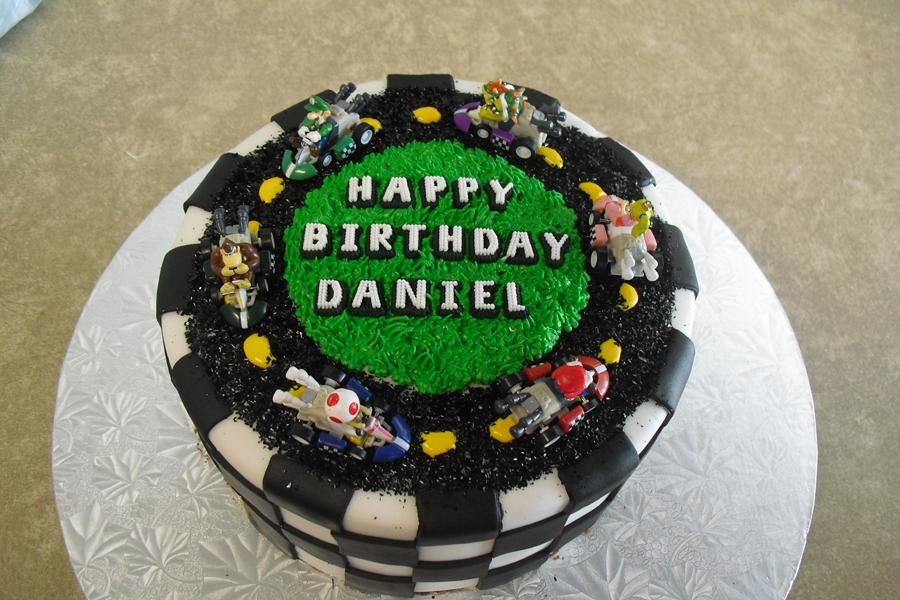 Birthday Cake Images For Daniel : Sugar - Cookies, Cakes and More: MarioKart Cake