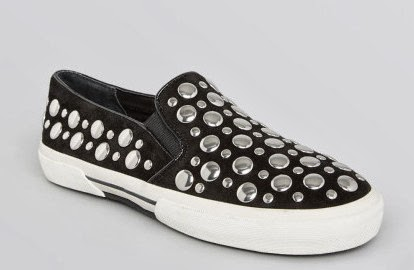 studded slip on sneakers, trend 2014,