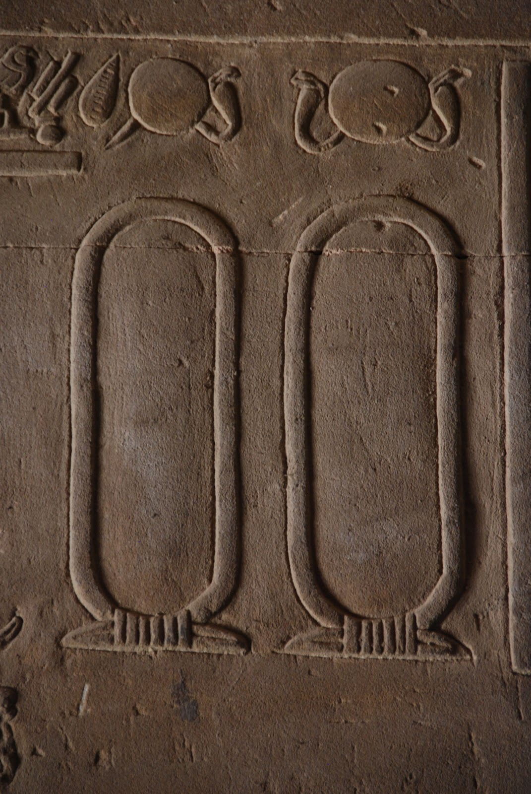 Blank cartouches usually cartouches had the pharaoh s name inscribed