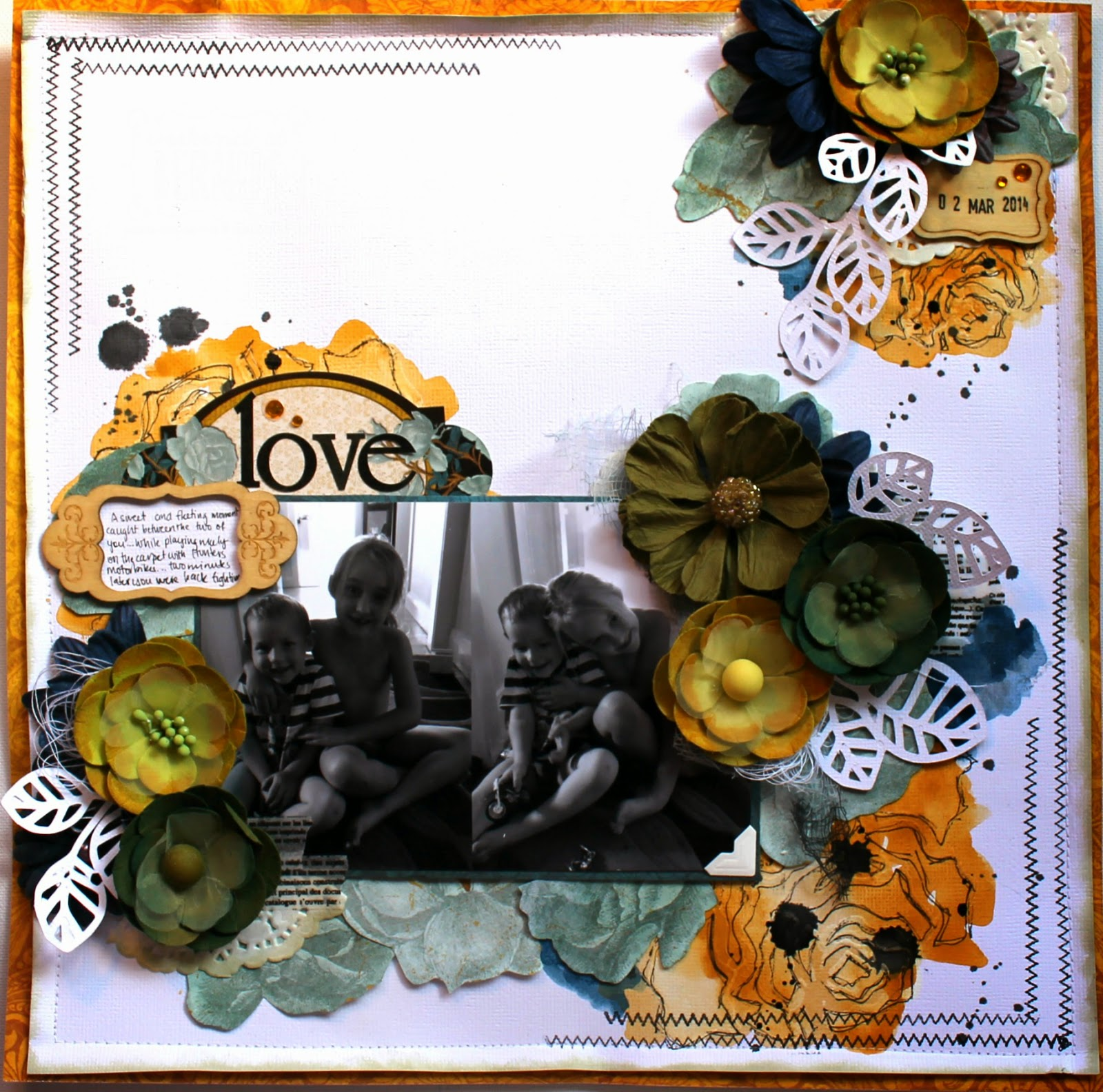 Love layout by Bernii Miller