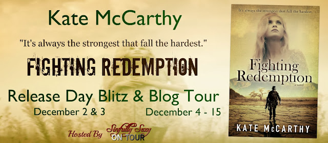 Blog Tour: Book Spotlight + Giveaway – Fighting Redemption by Kate McCarthy