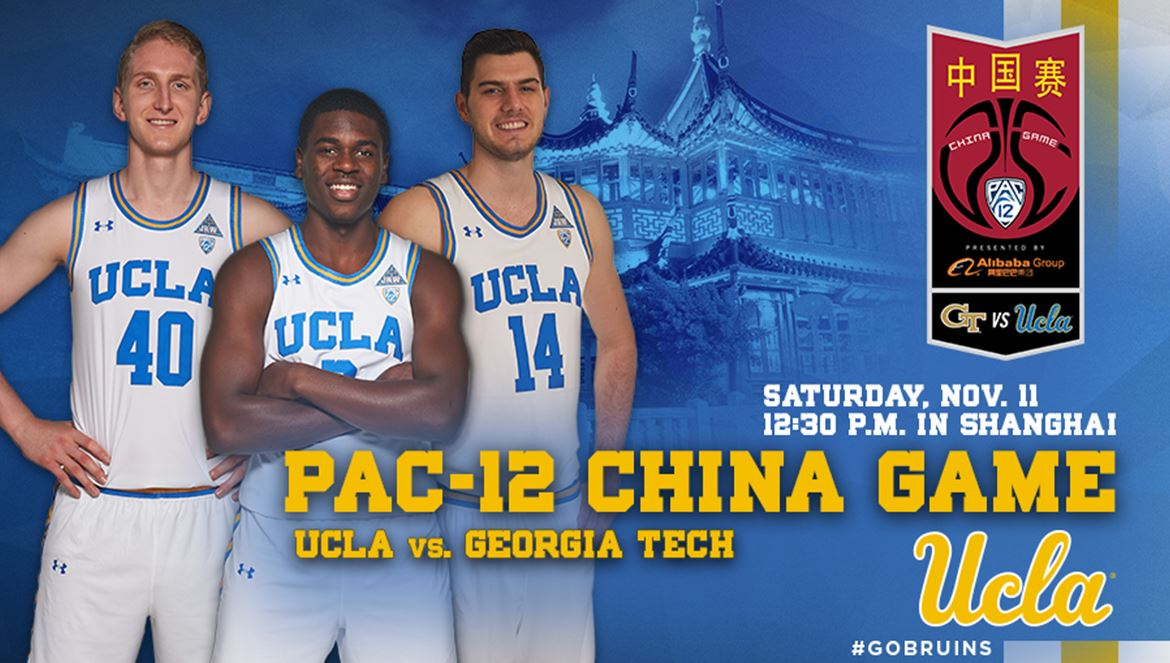 UCLA vs Georgia Tech in China Nov 11