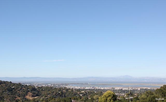 Ciel bleu sur la Baie de San Francisco
