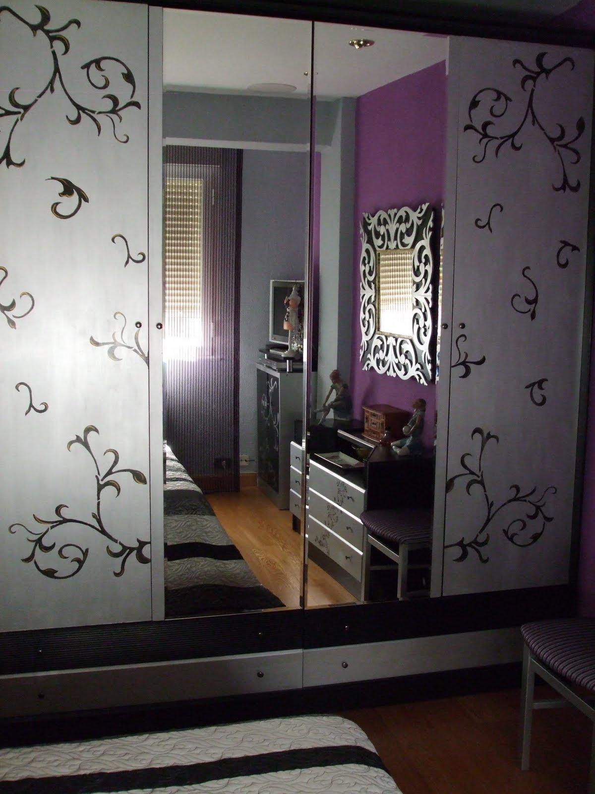 Decoracion en paredes con pintura utilisima for Decoracion con espejos en paredes