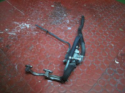 Sekundärluftsystem SLS Honda SLR 650
