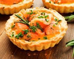 Recette Tartelettes Au Saumon