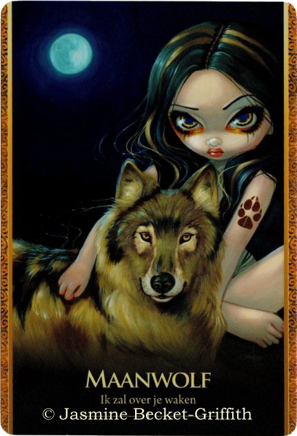 Oracle of the Shapeshifters, Wolf Moon - I will watch over you