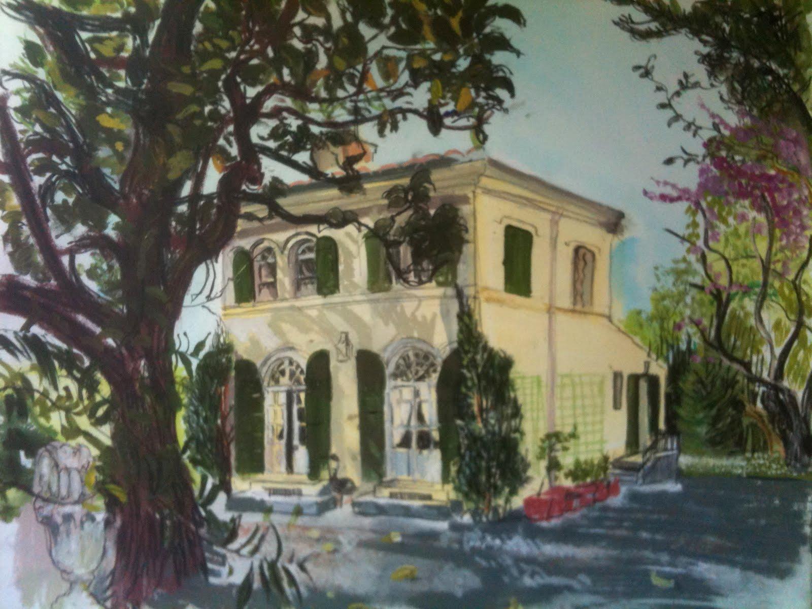 Graham evans la maison de mme bocquet les baux de provence for A la maison de provence