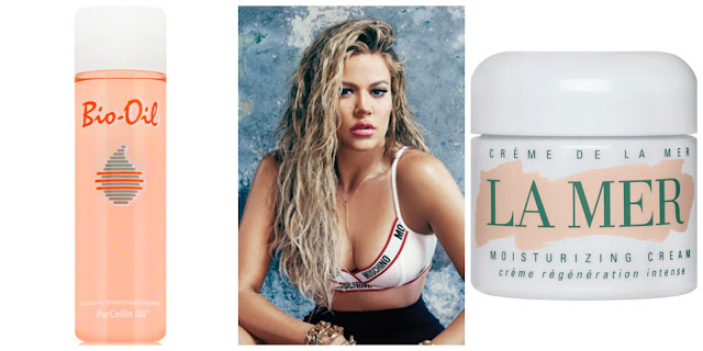 Khloe Kardashian beauty and skincare