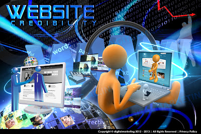 Website Credibilty, Institute of Digital Marketing