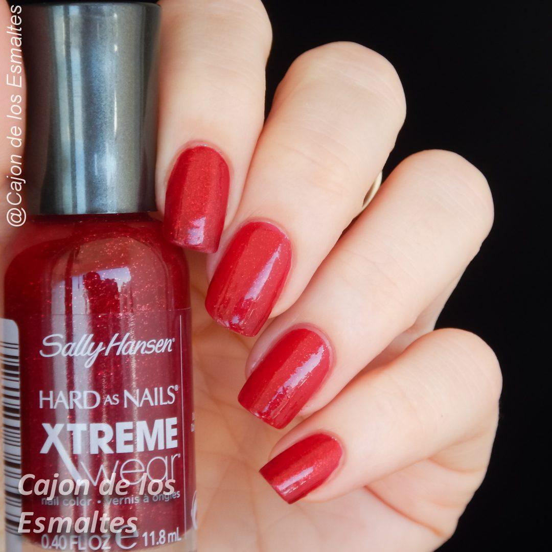 El mejor esmalte rojo - ¿Sally Hansen Red Carpet o China Glaze Rubi ...
