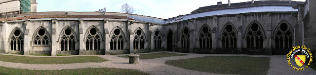 Toul - Cloître de la cathédrale Saint-Etienne