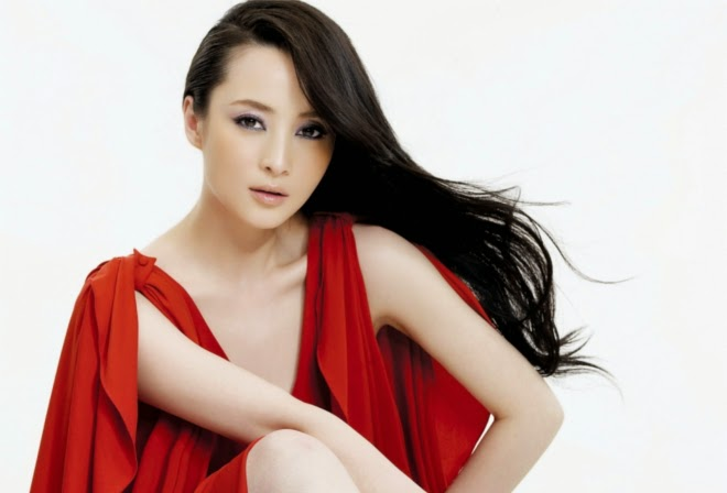 Beautiful Jiang Qinqin HD Wallpaper