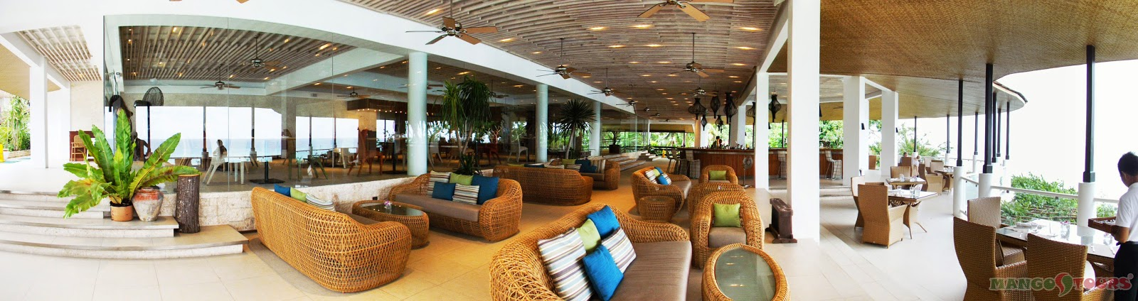 Mango Tours Philippines Alegre Beach Resort & Spa Restaurant The Pavilion